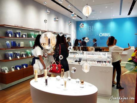 ORBIS Skincare is now in Ngee Ann City: Review of Aquaforce series & store haul