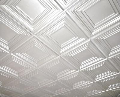 ceiling tiles - kitchen