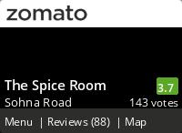 The Spice Room Gurgaon
