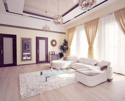 Tips For Faking Extra Space In Your Living Room 1 Paint