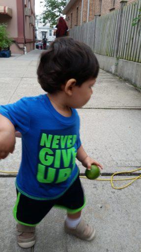 A Jewish and Muslim interfaith child