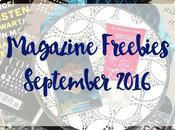 Magazine Freebies September 2016