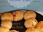BellPepper Stuffed Whole Wheat Buns #BreadBakers