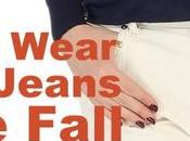 Wear White Jeans Fall