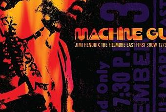 Jimi Hendrix New Live Album Quot Machine Gun The Fillmore