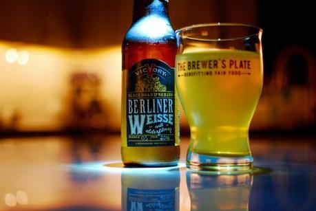 Beer Review – Victory Berliner Weisse with Elderflower