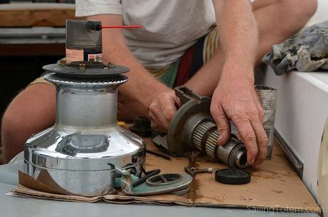 7 winch repair