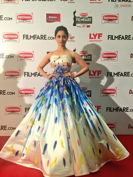 Filmfare Awards South 2016: Best Dressed Celebrities - Paperblog