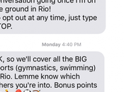 York Times Summer Olympics: Message News!