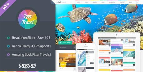 lovetravel wordpress theme