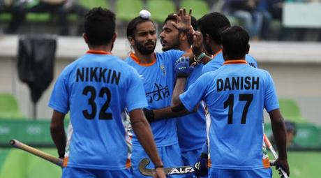 India draws 2:2 with Canada at Rio Olympics ~ qualifies for knockout after 32 years