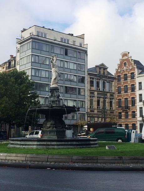 Hello Belgium: Day 1, Brussels, Comic Strip Walk