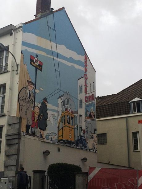 Hello Belgium: Day 1, Brussels, Comic Strip Walk