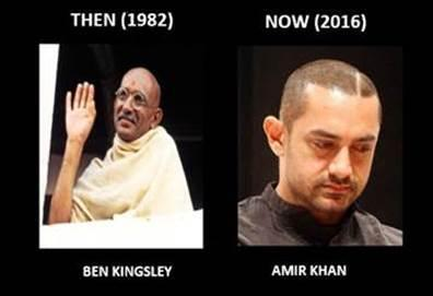 If 'Gandhi' was made in 2016!