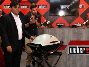 Weber- American covered Grilling Master forays into North India – Brand Launch