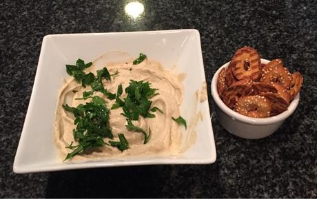 The Trendy Vegan Recipe: Roasted Eggplant Dip