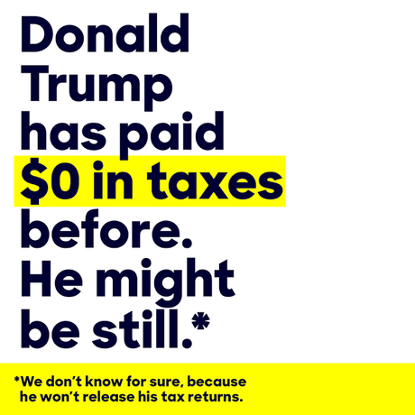 Clinton Paid Over 43% In Taxes -- Did Trump Pay Anything ?
