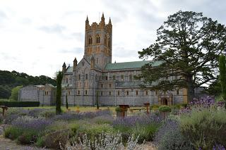 A pause at Buckfast Abbey