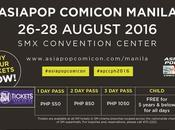 AsiaPop Comicon Manila 2016 Hollywood Stars Roster