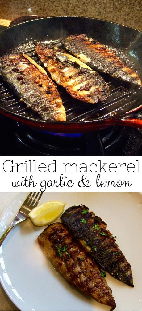 We love the crispy, smoky skin & juicy, flavourful flesh of this delicious grilled mackerel! Packed with Omega 3, it's a healthy family favorite dinner.