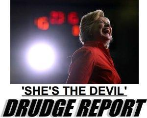 hillary-the-devil