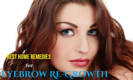 Eyebrow ReGrowth Home Remedies