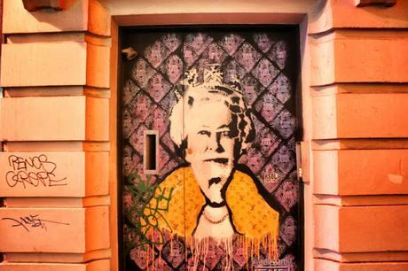 The #London Nightly #Photoblog - #StreetArt That Nice Old German Woman in #Soho