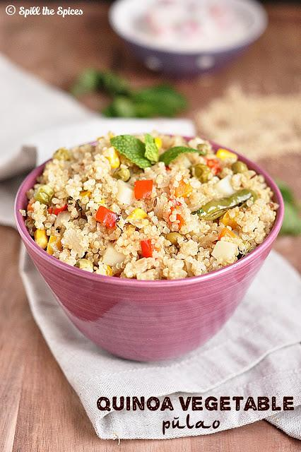 Quinoa Vegetable Pulao