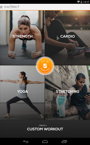 Sworkit Pro Personal Trainer - screenshot