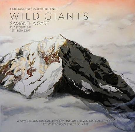 Samantha Gare - Wild Giants At Curious Duke Gallery, London