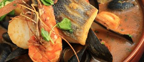 paleo dinner recipes seafood bouillabaisse featured image