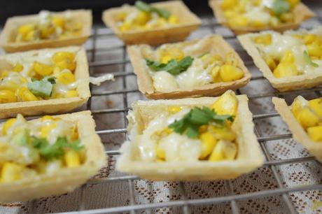 Corn canapes chaat easy canape recipe paperblog for Canape easy recipe