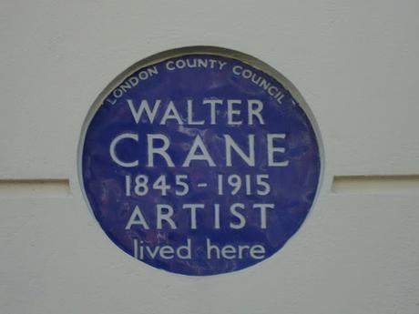 #plaque366 Walter Crane