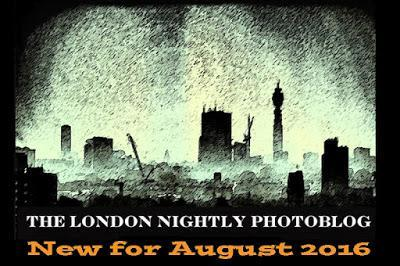 The #London Nightly #Photoblog - The Tough Life Of A Writer