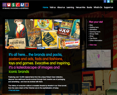 #London Summer #SchoolHolidays - The Museum of Brands @MuseumofBrands