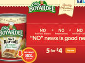 Save Chef Boyardee This Back School Season