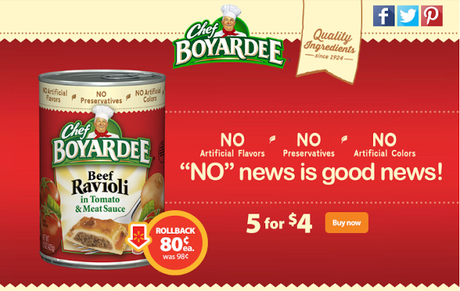 Save on Chef Boyardee this Back to School Season