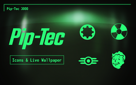 PipTec Green Icons & Live Wall APK v1.5.0 Download for Android