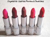 Organistick Lipsticks Price, Review Swatches India