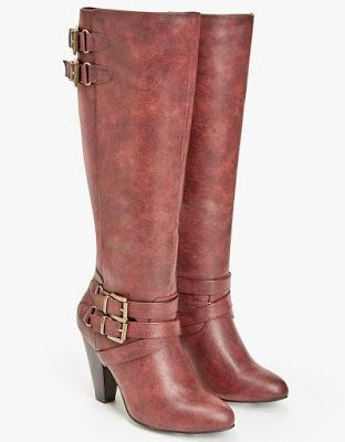 Shoe of the Day | JustFab Emmeline Wide Width Boots