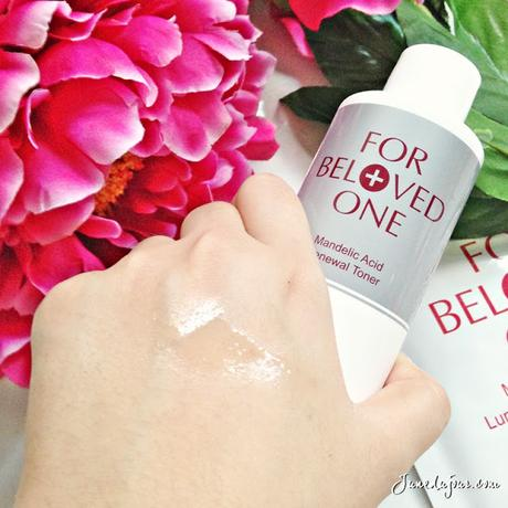 The answer to dull skin and dark spots: For Beloved One Mandelic Acid Range