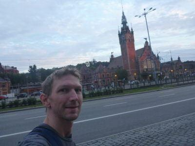 Leaving Gdańsk for the Kaliningrad bus