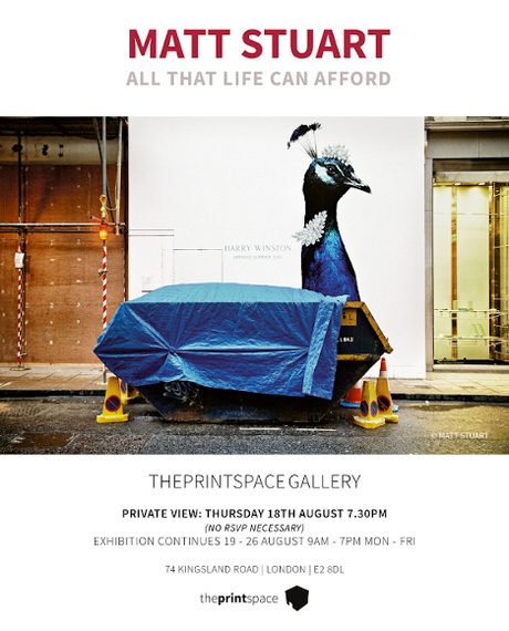 Matt Stuart's All That Life Can Afford At The Print Space