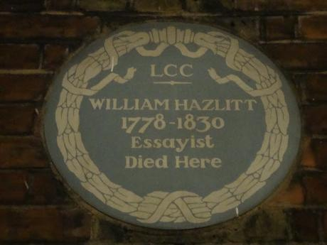 #plaque366 William Hazlitt