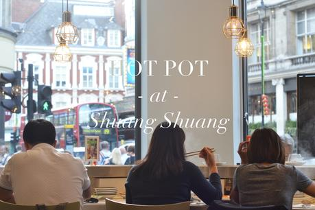 Hot pot at Shuang Shuang.