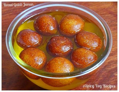 Gulab jamuns prepared with bread are as delicious as mawa Gulab Jamuns.  You can use leftover bread also for this. Bread Gulab Jamun is very easy to prepare and is a quick alternative to the regular mawa gulab jamuns. I have already posted Milk Powder Gulab Jamun recipe.  How make Instant Bread Gulab Jamun-Bread Gulab Jamun Recipes Bread Gulab Jamun Recipes - How to make Gulab Jamun from Bread  Desserts |Sweets | Mithai Recipes, Indian Cuisine, Quick Recipes, Kids Recipes, Festivals N Occasions, bread recipes, gulab jamun recipes, Deep Fry Snacks, North Indian Recipes,