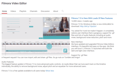 Filmora: A Cool Video Editor for Bloggers!