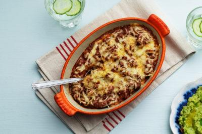 Low-Carb Tex-Mex Casserole
