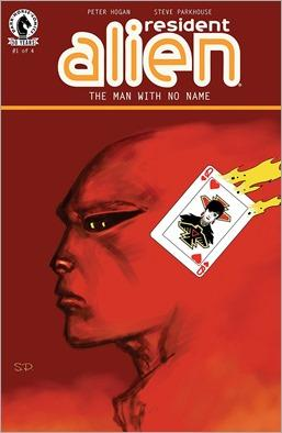 Resident Alien: The Man With No Name #1 Cover