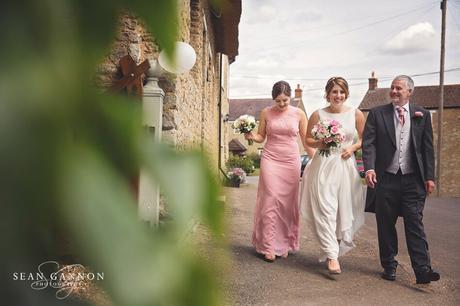 The Great Barn Aynhoe Wedding 012